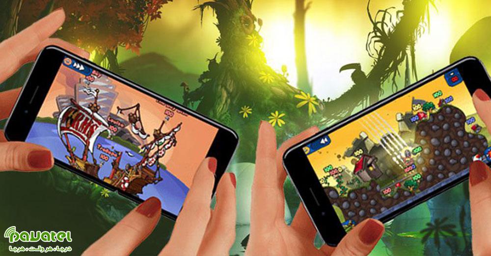 بهترین بازیهای دو نفره موبایل