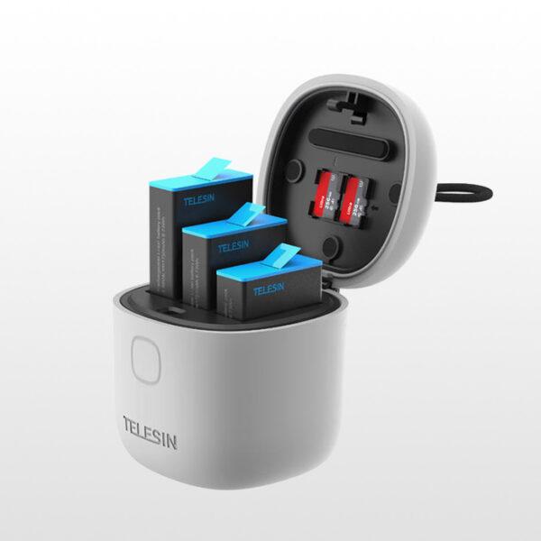 باتری به همراه شارژر تلسین مناسب گوپرو 9