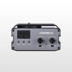 میکسر صدای دوکاناله برای دوربین های DSLR کامیکا Comica CVM-AX3