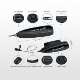 میکروفن بی سیم کیمافون KIMAFUN KM-G130 Microphone