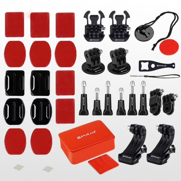 Puluz 53 In 1 Accessories Bag For Gopro