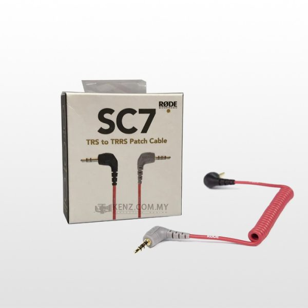 کابل اتصال میکروفن رُد Rode SC7 3.5mm patch cable for VideoMic Go
