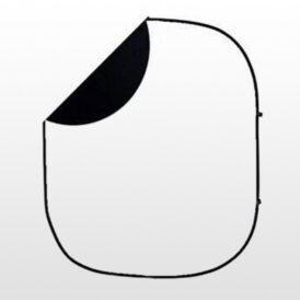 فون پرتابل سفید/مشکی Back ground 200x150cm