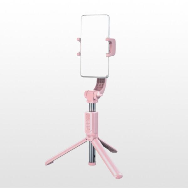 گیمبال موبایل بیسوس Baseus SULH-04 Bluetooth Folding Stand Selfie Stabilizer Pink