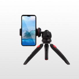 سه پایه موبایل جیماری MT-35 + میکروفن یقه ای جیماری MC-R2