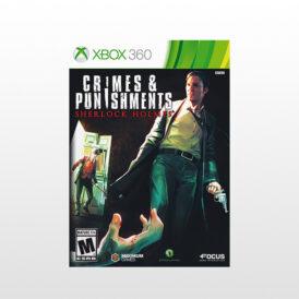 بازی ایکس باکس Sherlock Holmes: Crimes and Punishments