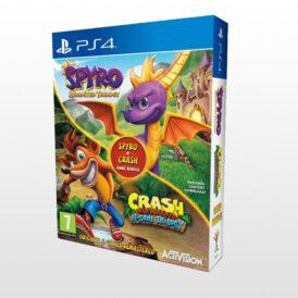 بازی پلی استیشن 4 - Spyro + Crash Game Bundle