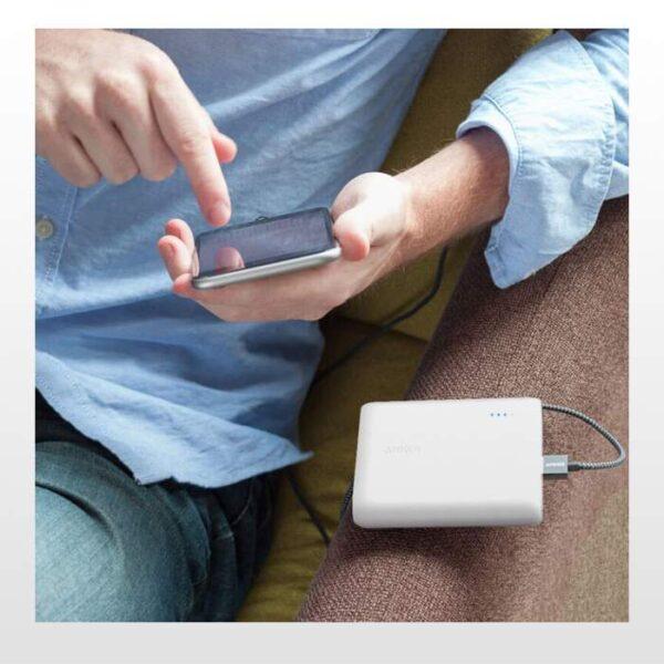 پاور بانک انکر PowerCore 13000 A1215 ظرفیت 13000mAh