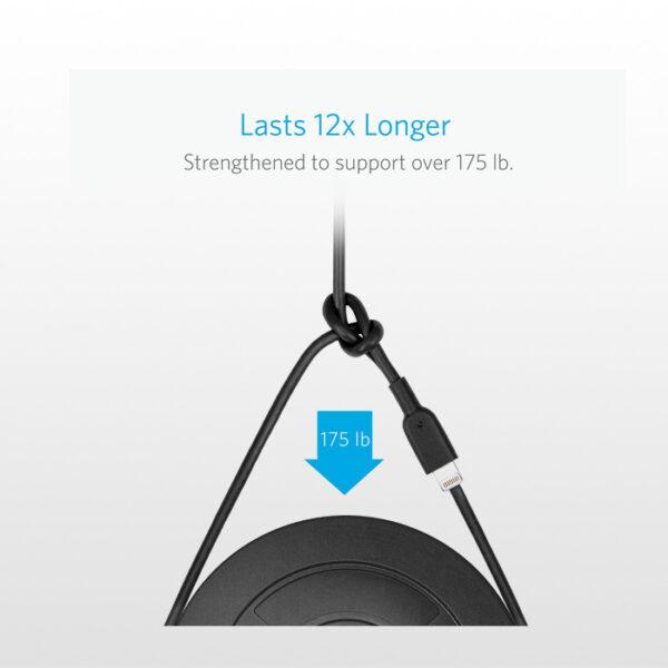 کابل تبدیل USB به لایتنینگ انکر A8432