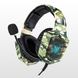 هدست گیمینگ Onikuma K8 Gaming Headset - Green Camo
