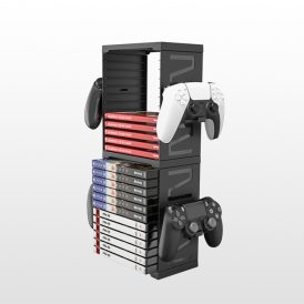 پایه نگهدارنده بازی و کنترلر iPlay Multifunctional Game Storage Stand