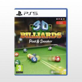 بازی پلی استیشن 5 - 3D Billiard: Pool & Snooker