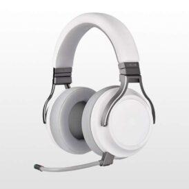 هدست بی سیم پلی استیشن 4 Corsair Virtuoso RGB - Premium-White