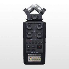 رکورد صدا زوم Zoom H6 2020 Version Without Mide-Side Black